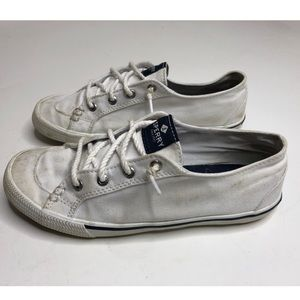 Sperry white Canvas Sneakers - size 6